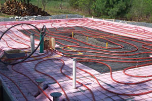 The Slab On Grade Installation Diy Radiant Floor